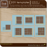 2011 Templates Series 1 - The 12x12 Bundle