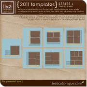 2011 Templates Series 1 - The 12x12 Bundle