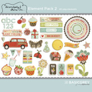 Serendipity & Shine On Element Pack 2