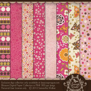 Blossom Paper collection PINK