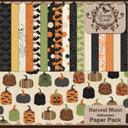 Harvest Moon Halloween Papers