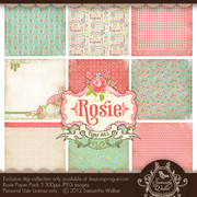 Rosie paper kit collection 3