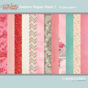 True Love Paper Pack 1