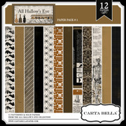 ALL HALLOW'S EVE Paper Pack 1