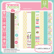 TRUE FRIENDS Paper Pack 1