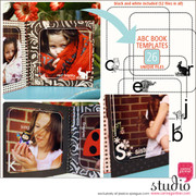 ABC BOOK - Square