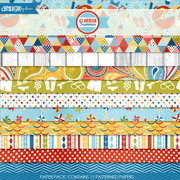 All American Summer Paper Pack