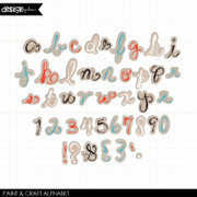 Paint and Craft Alphabet