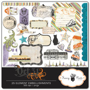 Oct 31 Element Embellishments