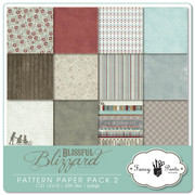 Blissful Blizzard Pattern Papers 2