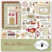 Home for Christmas Embellishment Pack 1