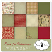 Home for Christmas Paper Pack 1