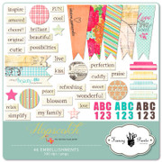 Hopscotch Embellishment Pack 1