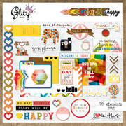 Color Me Happy Element Pack 1
