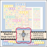 Easter Bingo Card Kit