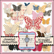 Jeweled Butterflies