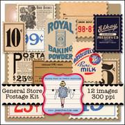 General Store Postage Kit