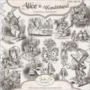 Alice in Wonderland Digital Stamps