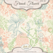 French Flower Brushes 2