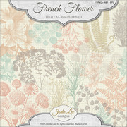 French Flower Brushes III