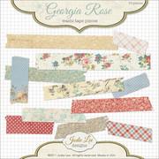 Georgia Rose Digital Paper Tape