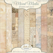 Mixed Media Printable Papers