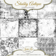 Shabby Antique Transparent Overlays