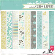 CURIO PAPERS Mini Collection Series