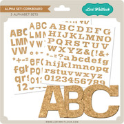 Alpha Set Corkboard
