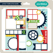 Layout Templates Gears