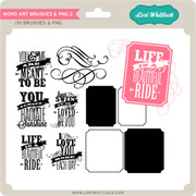 Word Art Brushes and PNG Brushes-2