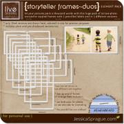 Storyteller Frames - Duos