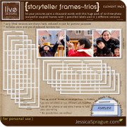 Storyteller Frames - Trios