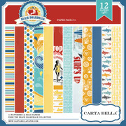 BEACH BOARDWALK Paper Pack 1