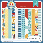 BEACH BOARDWALK Paper Pack 2