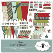 Little Sport Embellishment Pack 1