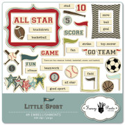 Little Sport Embellishment Pack 2