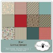 Little Sport Paper Pack 1