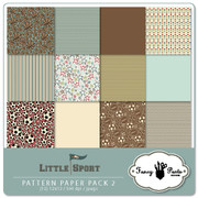 Little Sport Paper Pack 2