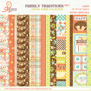 Paper pack 1 Family Traditions