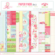 New Year New You Paper Pack 1