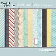 Fact & Fiction Paper Pack 2