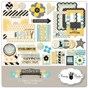 Park Bench Embellishment Pack 1