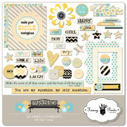 Park Bench Embellishment Pack 3