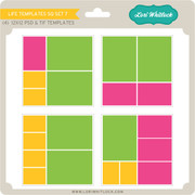 Life Templates SQ Set 7