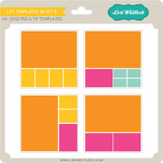 Life Templates SQ Set 8