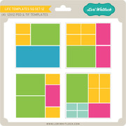 Life Templates SQ Set 12