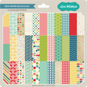 Mod Papers Multicolored
