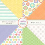 The Spring Color Collection - Paper Pack #1