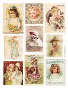 Sweet Scraps 2 - Printable Vintage Ephemera